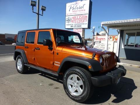 2011 Jeep Wrangler Unlimited for sale in Orem, UT
