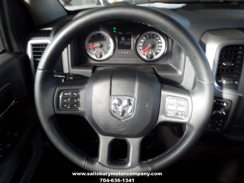 2016 RAM Ram Pickup 1500 for sale at SALISBURY MOTOR COMPANY in Salisbury NC