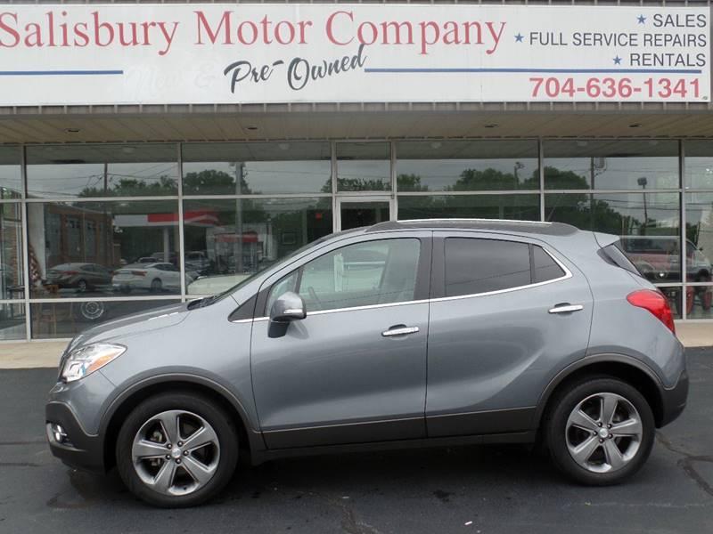 2014 Buick Encore for sale at SALISBURY MOTOR COMPANY in Salisbury NC