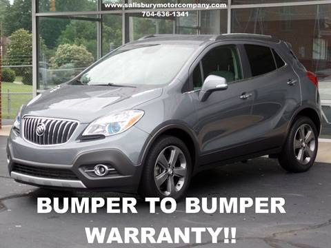 2014 Buick Encore for sale at SALISBURY MOTOR COMPANY in Salisbury NC