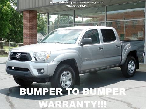 2015 Toyota Tacoma for sale at SALISBURY MOTOR COMPANY in Salisbury NC