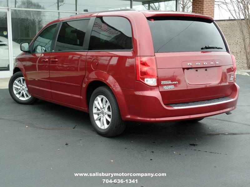 2014 Dodge Grand Caravan for sale at SALISBURY MOTOR COMPANY in Salisbury NC