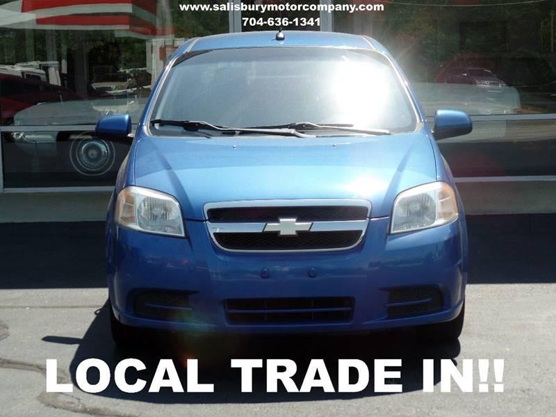 2009 Chevrolet Aveo for sale at SALISBURY MOTOR COMPANY in Salisbury NC