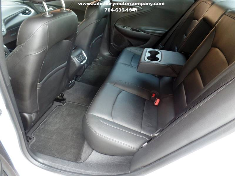 2016 Chevrolet Malibu for sale at SALISBURY MOTOR COMPANY in Salisbury NC
