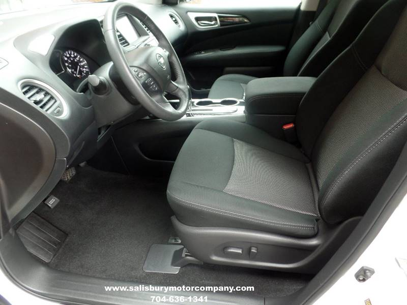 2017 Nissan Pathfinder for sale at SALISBURY MOTOR COMPANY in Salisbury NC