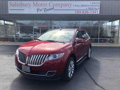 2015 Lincoln MKX for sale in Salisbury, NC