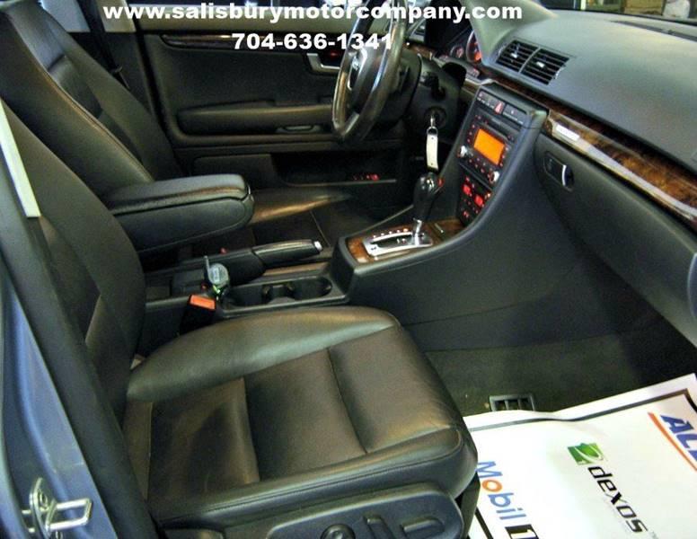 2007 Audi A4 AWD 3.2 quattro 4dr Sedan (3.1L V6 6A) - Salisbury NC