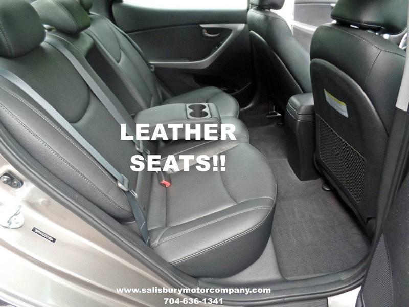 2013 Hyundai Elantra Limited 4dr Sedan - Salisbury NC