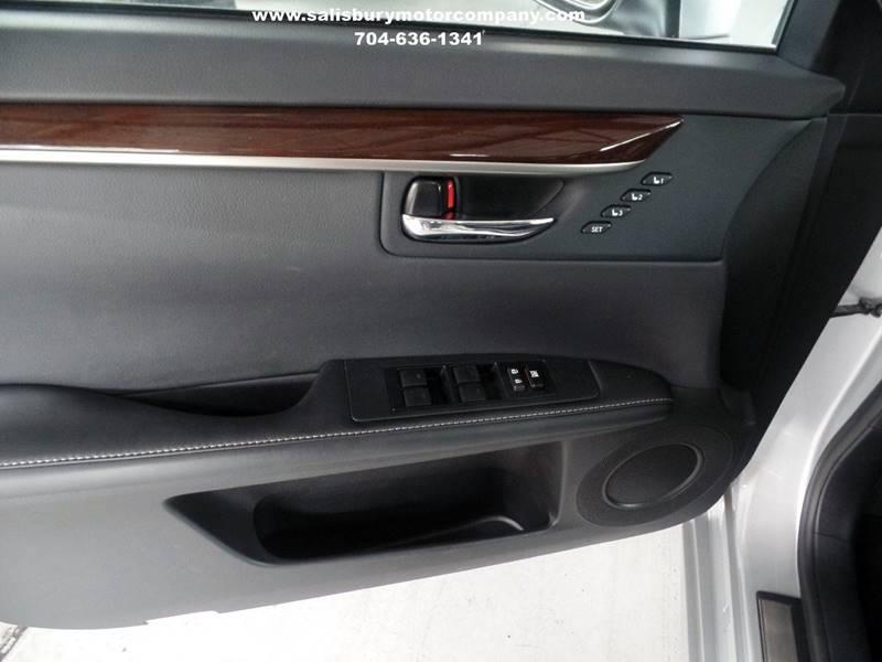 2013 Lexus ES 350 for sale at SALISBURY MOTOR COMPANY in Salisbury NC