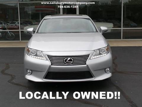 2013 Lexus ES 350 for sale at SALISBURY MOTOR COMPANY in Salisbury NC