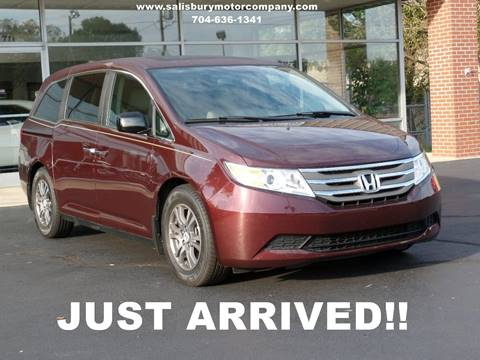 2013 Honda Odyssey for sale at SALISBURY MOTOR COMPANY in Salisbury NC