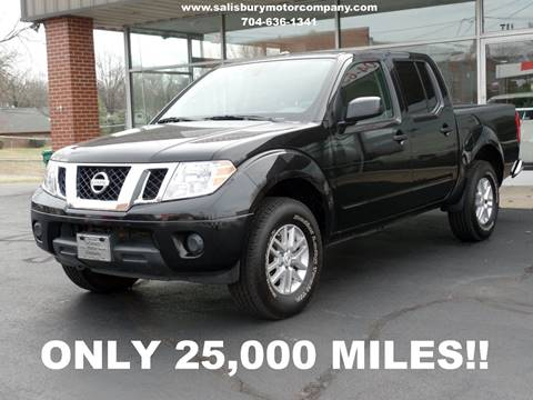 2016 Nissan Frontier for sale at SALISBURY MOTOR COMPANY in Salisbury NC