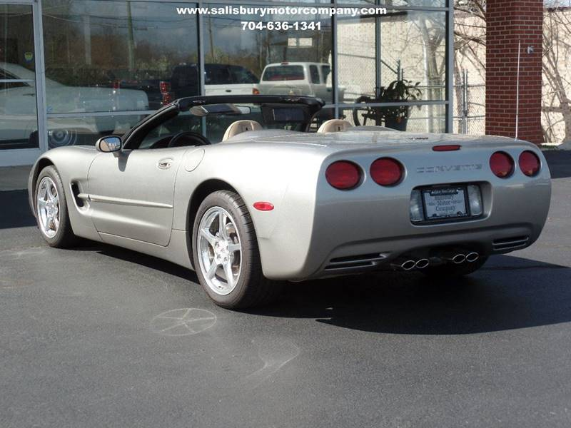 2000 Chevrolet Corvette for sale at SALISBURY MOTOR COMPANY in Salisbury NC