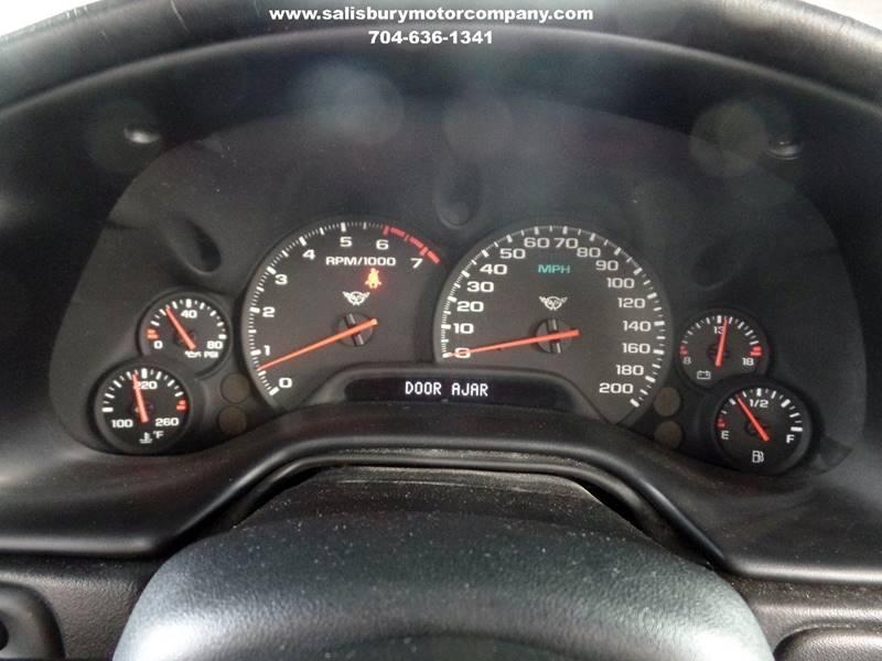 2000 Chevrolet Corvette 2dr Convertible - Salisbury NC