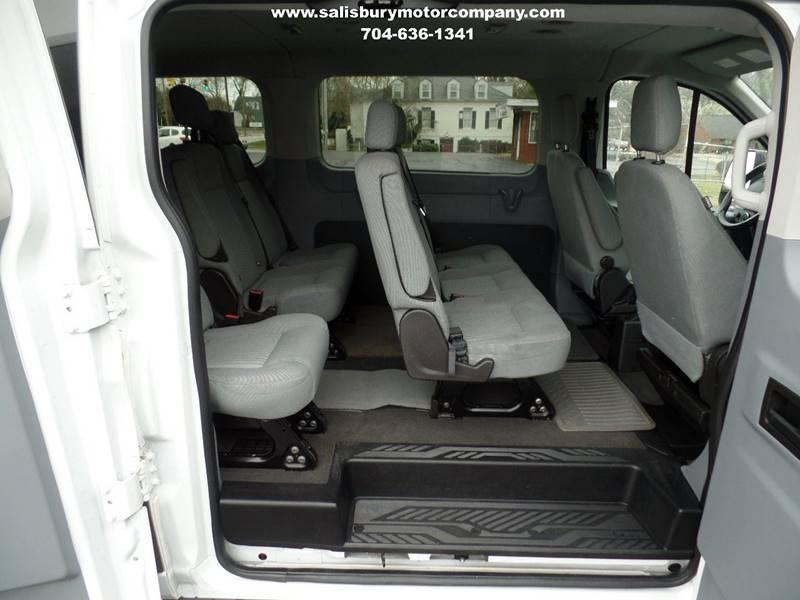 2015 Ford Transit Wagon 350 XLT 3dr LWB Low Roof Passenger Van w/60/40 Passenger Side Doors - Salisbury NC