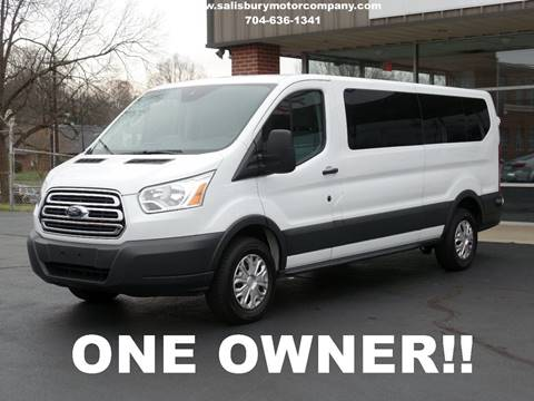 2015 Ford Transit Wagon for sale at SALISBURY MOTOR COMPANY in Salisbury NC
