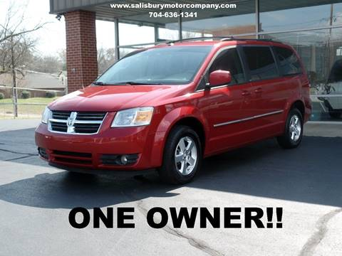2008 Dodge Grand Caravan for sale at SALISBURY MOTOR COMPANY in Salisbury NC
