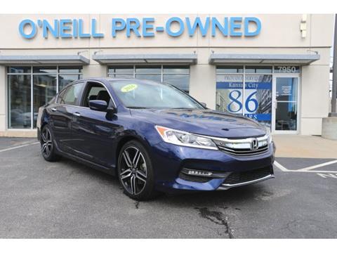 2016 Honda Accord for sale in Overland Park, KS