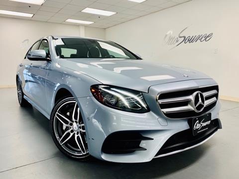 Mercedes Benz Dallas >> 2017 Mercedes Benz E Class For Sale In Dallas Tx