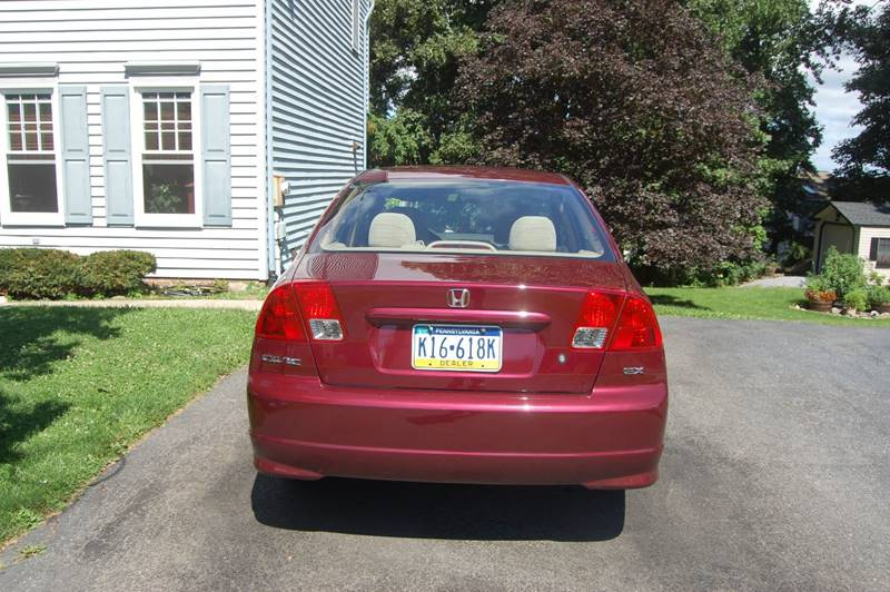 2004 Honda Civic EX 4dr Sedan - Elizabethtown PA