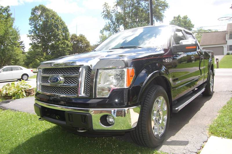 2011 Ford F-150 4x4 Lariat 4dr SuperCrew Styleside 6.5 ft. SB - Elizabethtown PA