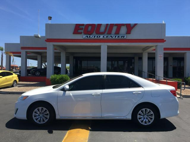 2014 TOYOTA CAMRY LE 4DR SEDAN white crumple zones rearcrumple zones frontphone wireless data l