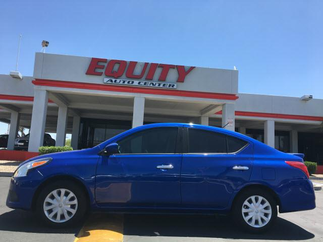 2016 NISSAN VERSA 16 S 4DR SEDAN 4A dk blue phone hands freestability controlphone wireless d
