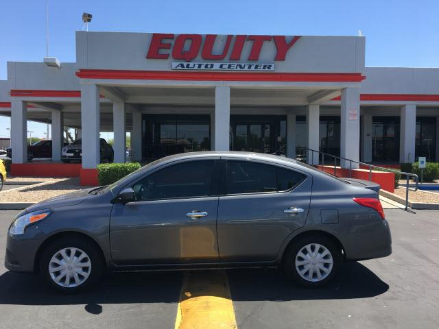 2016 NISSAN VERSA 16 S 4DR SEDAN 4A gray phone hands freestability controlphone wireless data