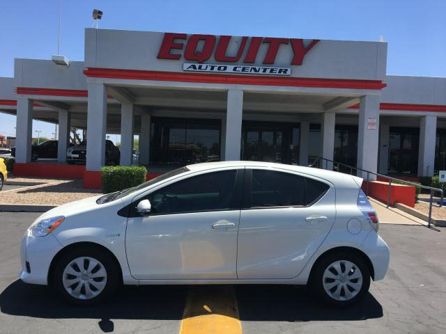 2014 TOYOTA PRIUS C C white stability controlpedestrian alert systemphone wireless data link bl