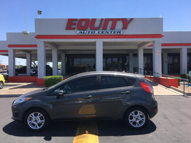 2015 FORD FIESTA SE 4DR HATCHBACK dk gray phone voice activatedstability controlelectronic mes