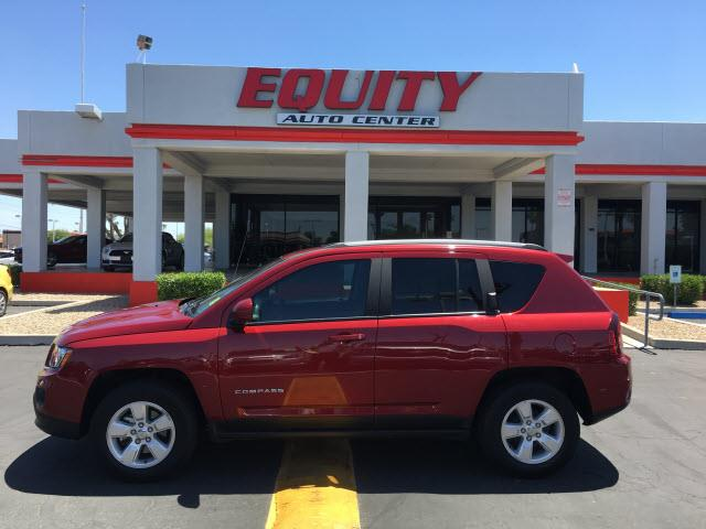 2016 JEEP COMPASS LATITUDE 4DR SUV red stability controlphone wireless data link bluetoothcrump