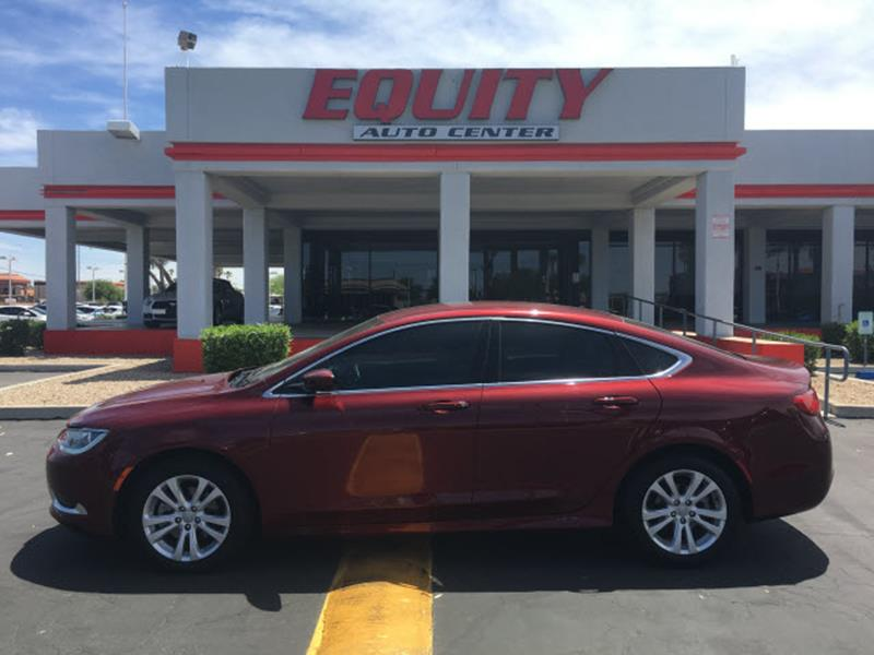 2016 CHRYSLER 200 LIMITED 4DR SEDAN dk red rear view camerarear view monitor in dashstability
