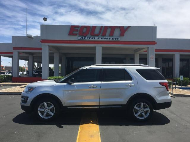 2016 FORD EXPLORER XLT AWD 4DR SUV silver rear view camerarear view monitor in dashsteering whe