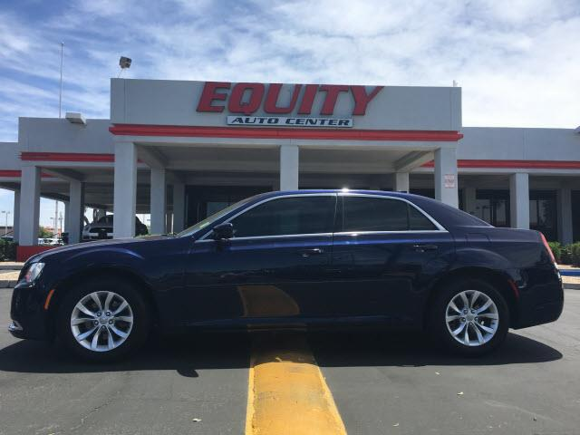 2015 CHRYSLER 300 LIMITED 4DR SEDAN blue stability controlphone wireless data link bluetoothcru