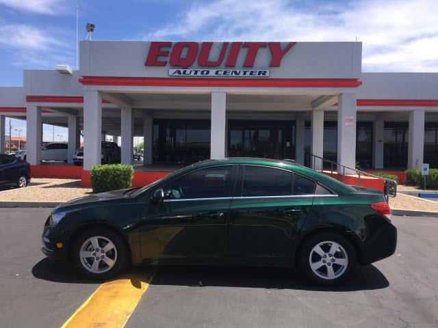 2015 CHEVROLET CRUZE 1LT AUTO 4DR SEDAN W1SD green stability controldriver information systems