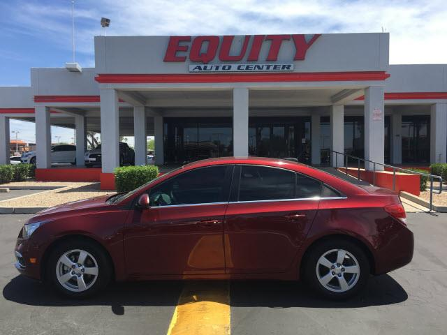 2015 CHEVROLET CRUZE 1LT AUTO 4DR SEDAN W1SD red stability controldriver information systemsec