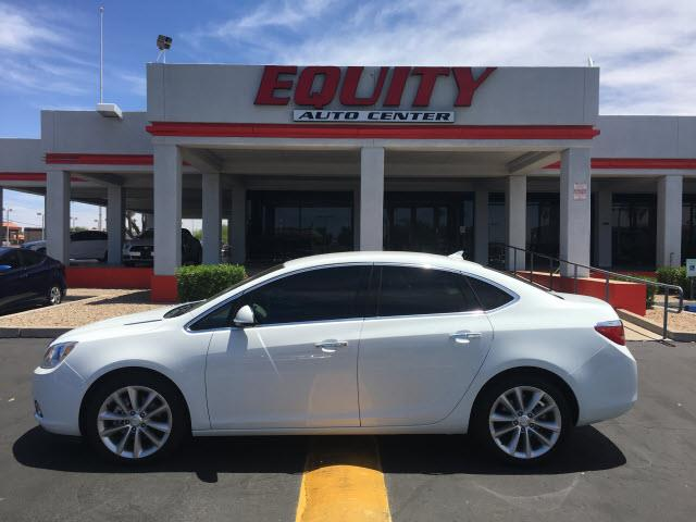 2014 BUICK VERANO BASE 4DR SEDAN white rear view camerarear view monitor in dashsteering wheel