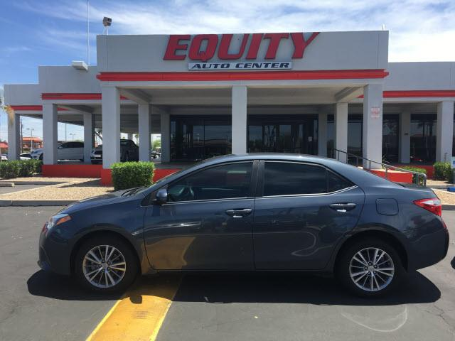 2014 TOYOTA COROLLA L 4DR SEDAN 4A gray rear view camerarear view monitor in dashstability cont