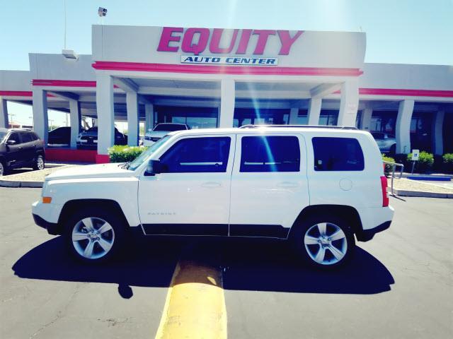 2016 JEEP PATRIOT LATITUDE 4DR SUV white stability controlphone wireless data link bluetoothcru