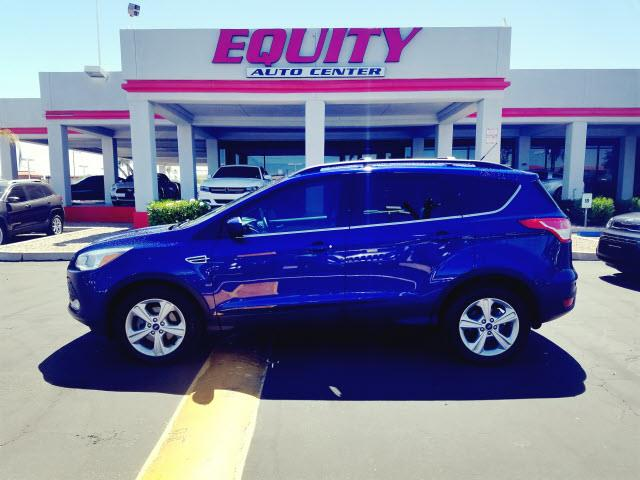 2013 FORD ESCAPE SE 4DR SUV blue steering wheel mounted controls voice recognition controlsstabi