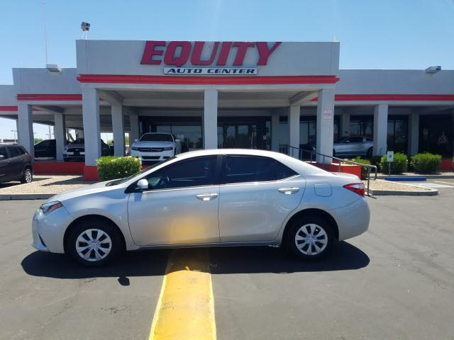 2014 TOYOTA COROLLA L 4DR SEDAN 4A silver rear view camerarear view monitor in dashstability co