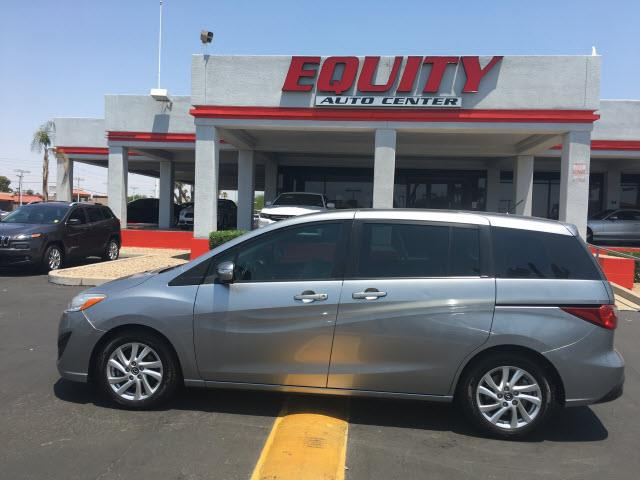 2014 MAZDA MAZDA5 SPORT 4DR MINI VAN 5A silver stability controlairbags - front - dualairbags -