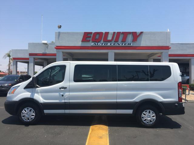 2015 FORD TRANSIT WAGON white stability controlroll stability controlimpact sensor post-collisi