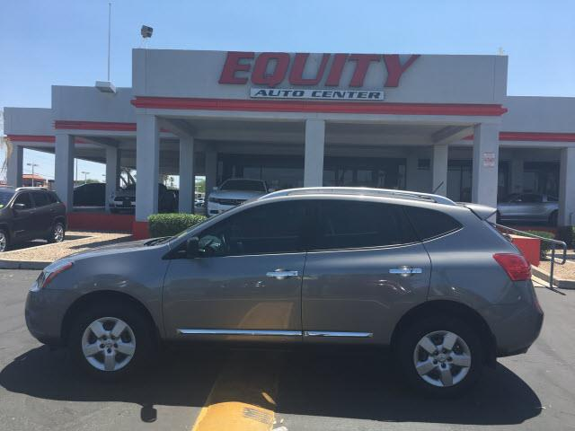 2014 NISSAN ROGUE SELECT S 4DR CROSSOVER lt gray stability controlsecurity remote anti-theft al