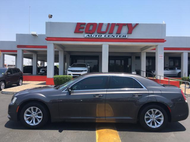 2015 CHRYSLER 300 LIMITED 4DR SEDAN gray stability controlphone wireless data link bluetoothcru