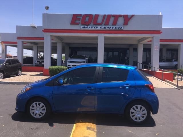2015 TOYOTA YARIS 5 DOOR L 4DR HATCHBACK blue stability controlphone wireless data link bluetoot