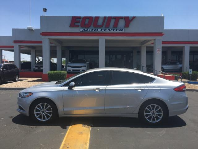 2017 FORD FUSION SE 4DR SEDAN silver rear view camerarear view monitor in dashphone voice activ