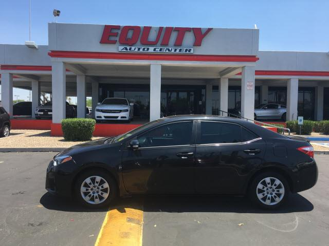 2016 TOYOTA COROLLA L 4DR SEDAN 4A black phone hands freestability controldriver information sy