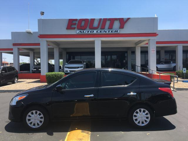 2016 NISSAN VERSA 16 S 4DR SEDAN 4A black phone hands freestability controlphone wireless data