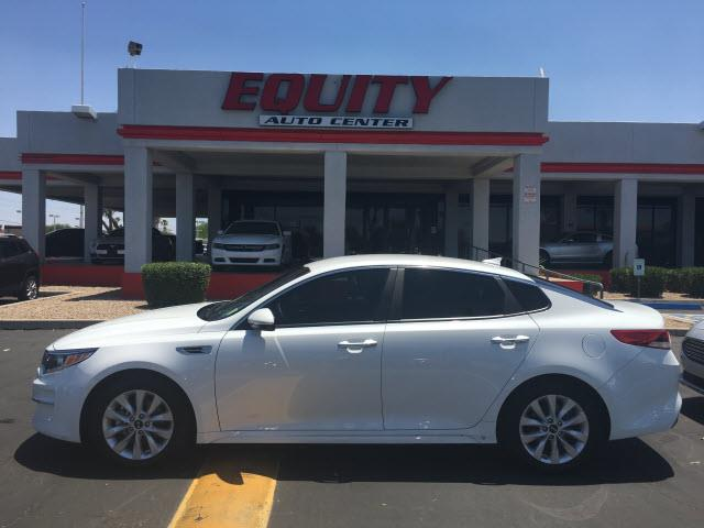 2016 KIA OPTIMA LX 4DR SEDAN white rear view camerarear view monitor in dashstability controld